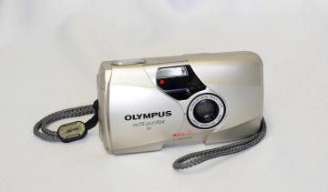 обоя olympus stylus epic dlx, бренды, olympus, фотокамера
