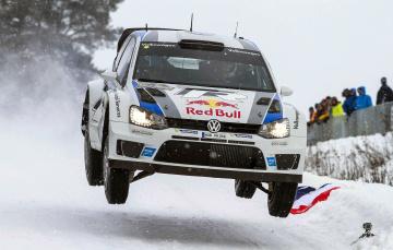 Картинка volkswagen+wrc спорт авторалли снег rally машина ралли зима белый wrc volkswagen polo