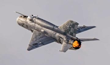 Картинка mig-21bis авиация боевые+самолёты истребитель