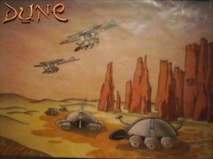 обоя dune, forever, рисованные, другое