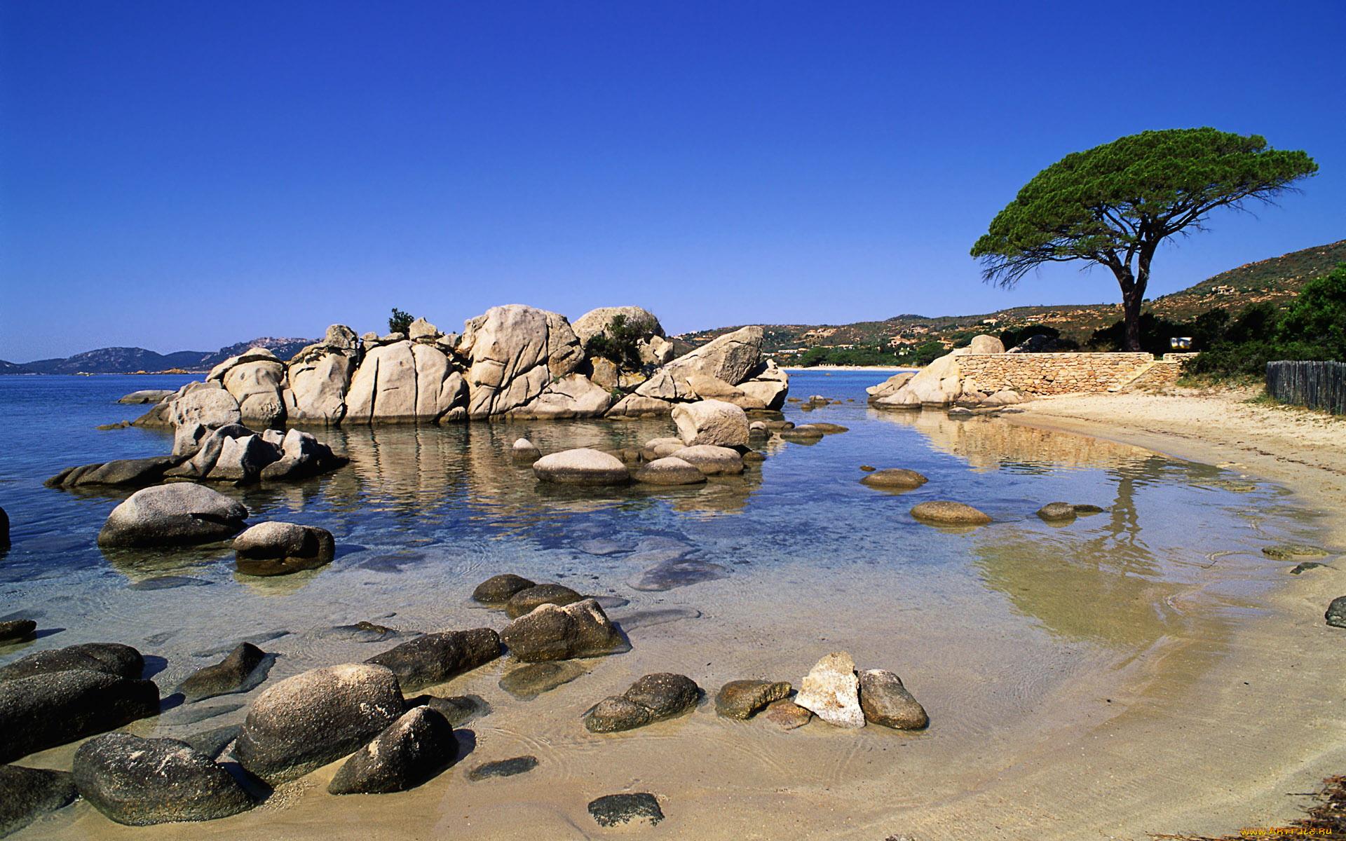 каменистый пляж скачать