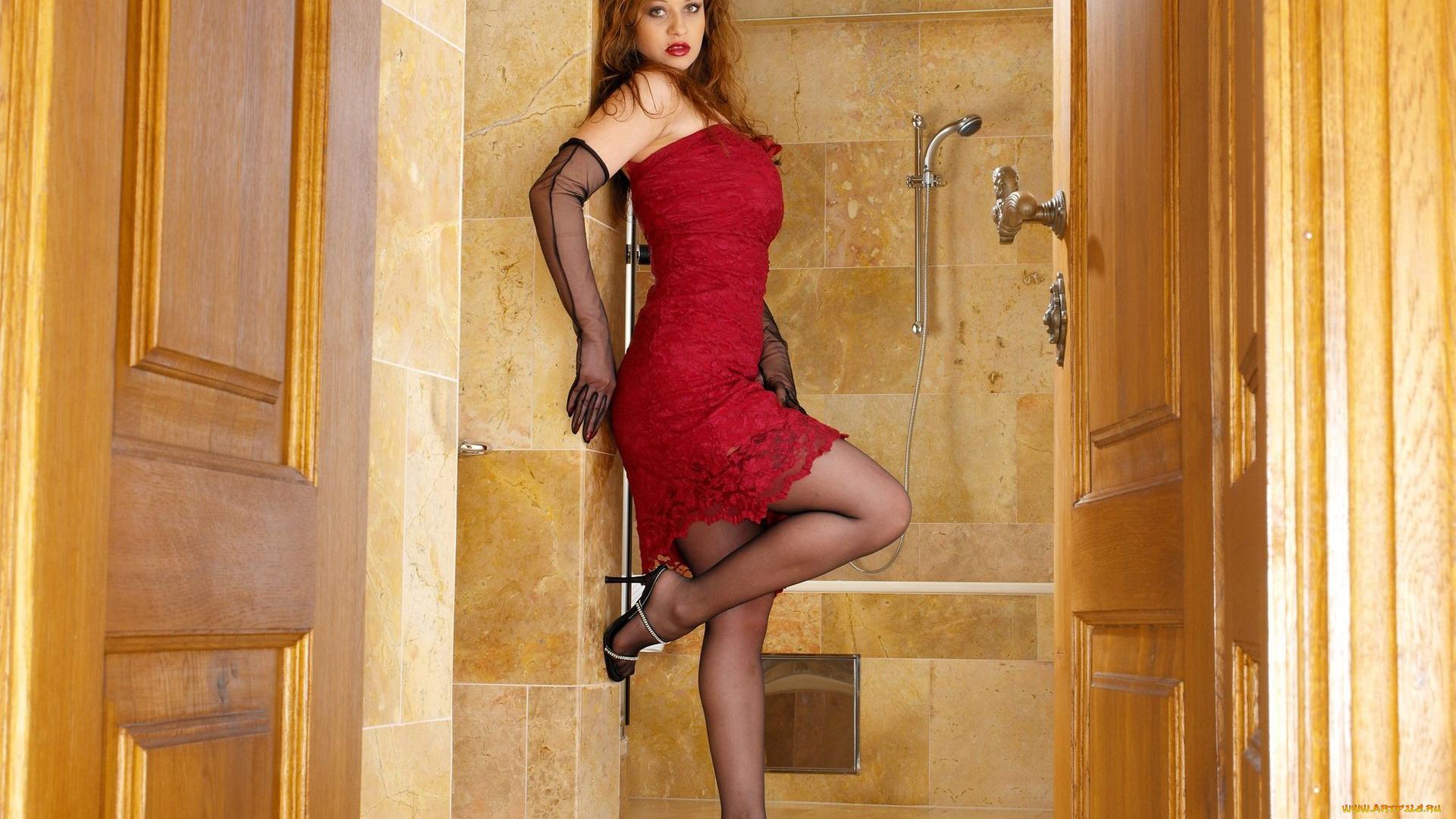 Фото девушки в платьях и колготках, Лучшее фото женщин в чулках и колготках - стр 2 6 фотография