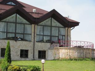 Картинка разное сооружения постройки здание фонарь терраса