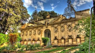 Картинка park villa borghese города рим ватикан италия скульптура