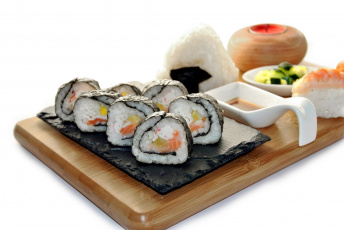 Картинка еда рыба +морепродукты +суши +роллы суши