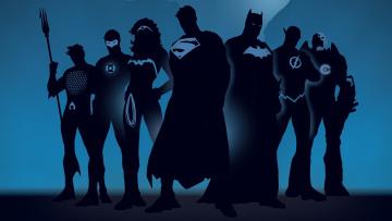 Картинка рисованные комиксы супергерои злодеи бетмэн темный рыцарь робин