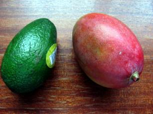 обоя еда, фрукты,  ягоды, авокадо, манго