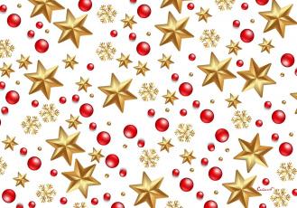 обоя праздничные, векторная графика , новый год, снежинки