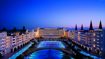 обоя интерьер, бассейны,  открытые площадки, бассейн, у, гостиницы, mardan, palace, турция