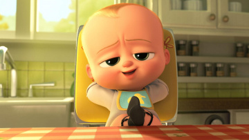 обоя мультфильмы, the boss baby, персонаж