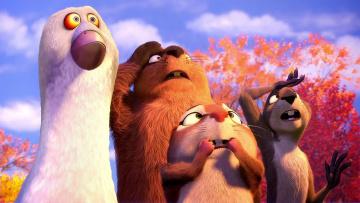 обоя мультфильмы, the nut job, the, nut, job