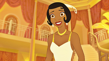 обоя мультфильмы, the princess and the frog, персонаж