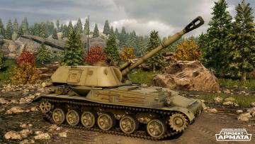 обоя видео игры, armored warfare, armored, warfare, симулятор, action
