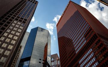 обоя города, - здания,  дома, небоскребы