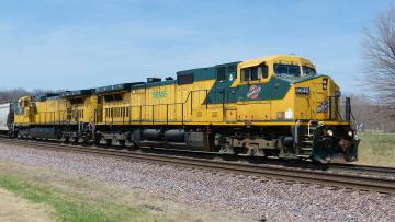 Картинка техника поезда рельсы локомотив состав дорога железная