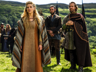обоя кино фильмы, vikings , 2013,  сериал, lagertha, lothbrok, katheryn, winnick