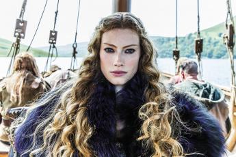 обоя кино фильмы, vikings , 2013,  сериал, alyssa, sutherland, aslaug