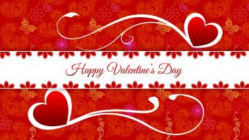 обоя праздничные, день святого валентина,  сердечки,  любовь, цвета, фон, узор