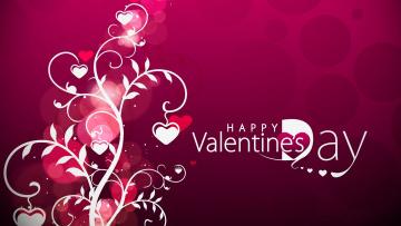 обоя праздничные, день святого валентина,  сердечки,  любовь, фон, узор, цвета