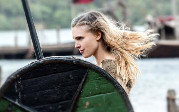 обоя кино фильмы, vikings , 2013,  сериал, gaia, weiss