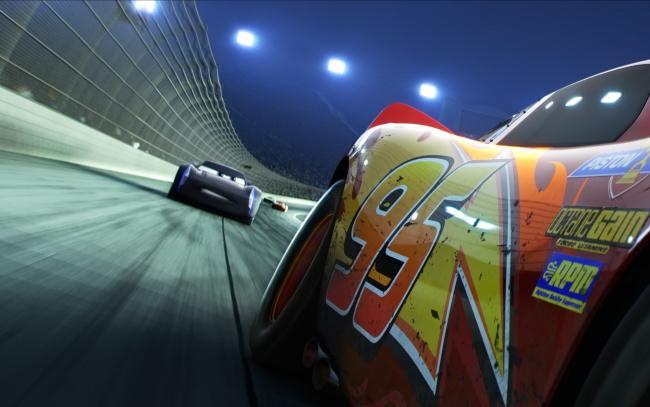 Обои картинки фото мультфильмы, cars 3, animated, film, car, lightning, mcqueen, disney, cinema, cars, 3, movie, speed, race