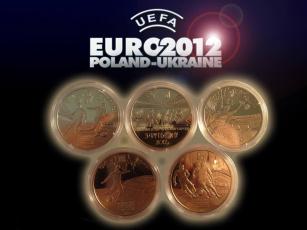 Картинка спорт другое футбол евро 2012 медали комплект