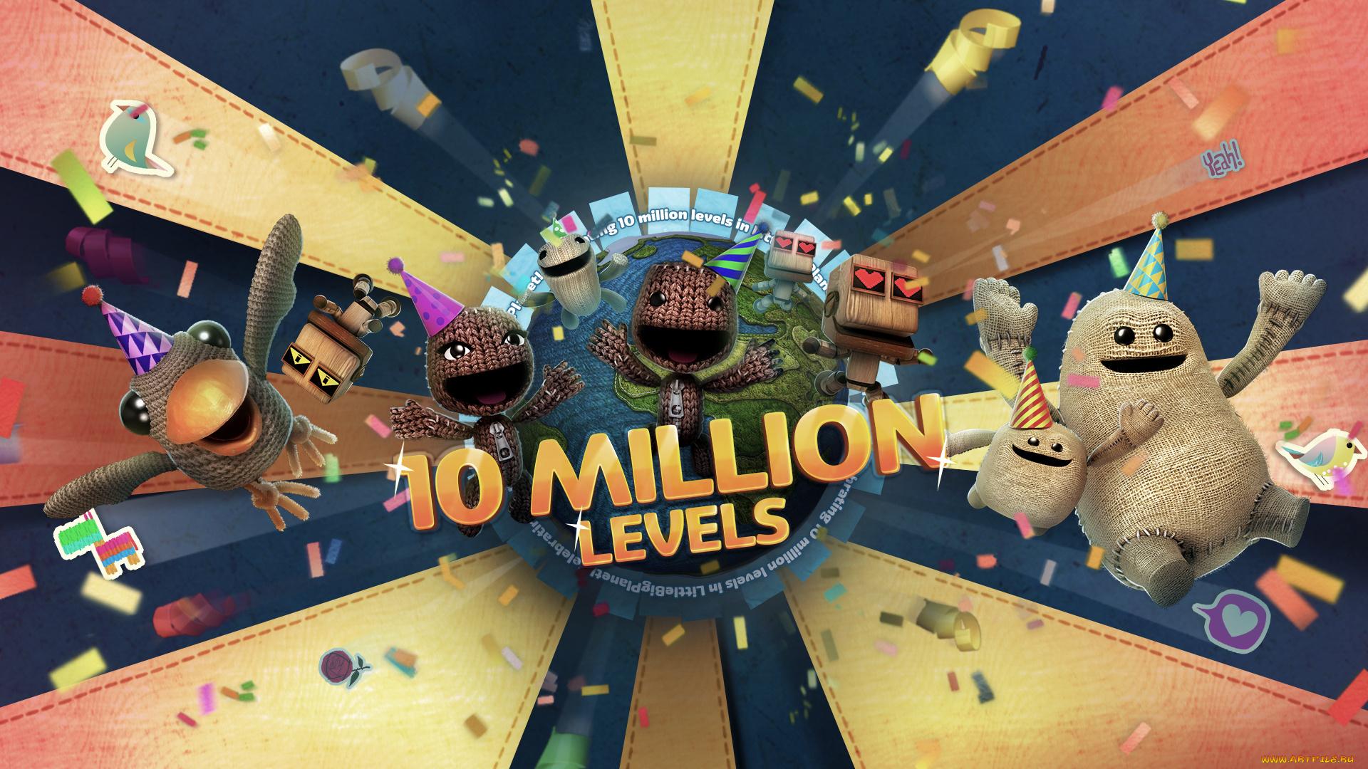 графика игры The Little Big Planet graphics game  № 1878145 бесплатно