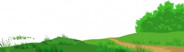 обоя векторная графика, природа , nature, лес, луг, дорога