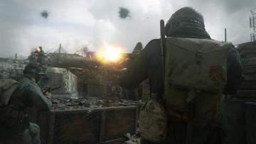 обоя call of duty ,  ww ii, видео игры, персонаж
