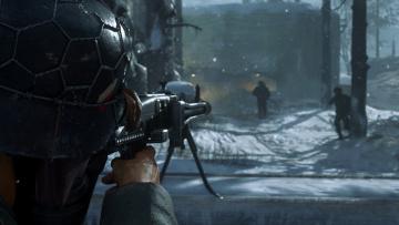 обоя видео игры, call of duty ,  ww ii, персонаж