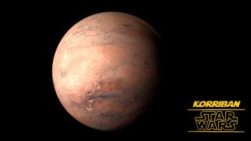 обоя видео игры, star trek online, коррибан, планета, звездные, войны