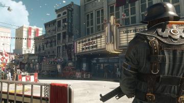 обоя видео игры, wolfenstein ii,  the new colossus, персонаж