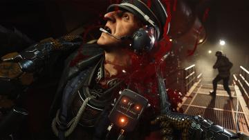 обоя wolfenstein ii,  the new colossus, видео игры, персонаж