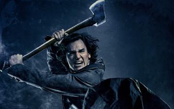 Картинка президент линкольн охотник на вампиров кино фильмы abraham lincoln vampire hunter топор орет