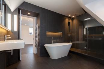 Картинка интерьер ванная+и+туалетная+комнаты ванна