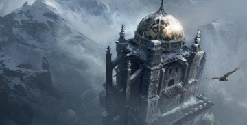 Картинка assassin`s creed revelations видео игры крепость орёл горы