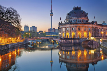 обоя berlin,  germany, города, берлин , германия, собор