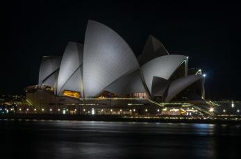 обоя города, сидней , австралия, простор