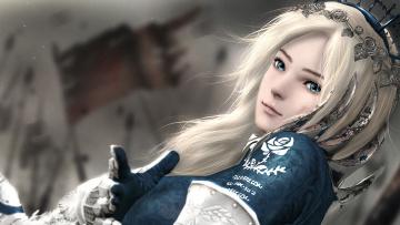 обоя видео игры, ~~~другое~~~, garry's, mod, девушка, by, sculp2, vindictus, delia