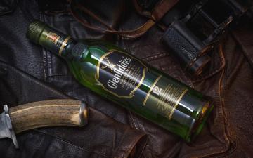 обоя бренды, glenfiddich, нож, бутылка, кожа, куртка, стиль, шотландский, виски, бинокль