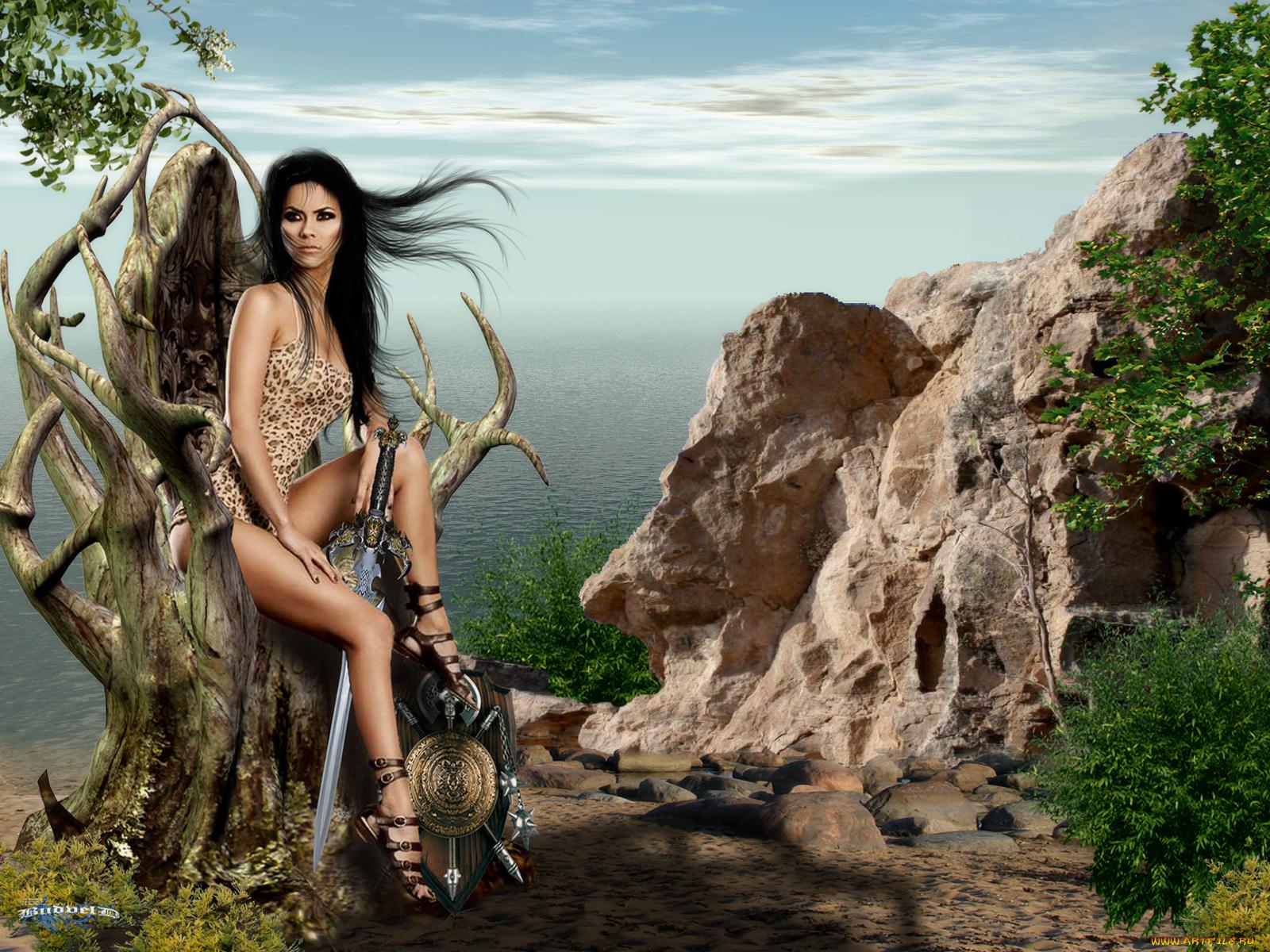Картинки амазонки фэнтези, рут