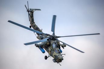 Картинка mi-28n авиация вертолёты вертушка