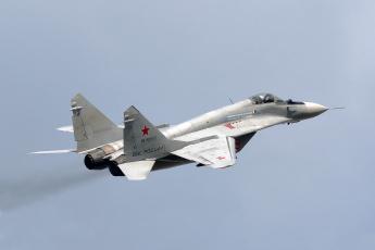 Картинка mig-29 авиация боевые+самолёты истребитель
