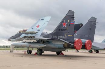 обоя mig-29k, авиация, боевые самолёты, истребитель