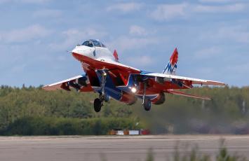 обоя mig-29ub, авиация, боевые самолёты, истребитель