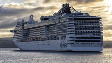 Картинка msc+splendida корабли лайнеры лайнер круиз