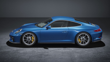 обоя porsche 911 gt3 with touring package 2018, автомобили, porsche, gt3, 911, touring, 2018, package, with