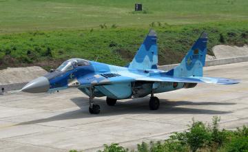 обоя mig-29b fulcrum, авиация, боевые самолёты, истребитель
