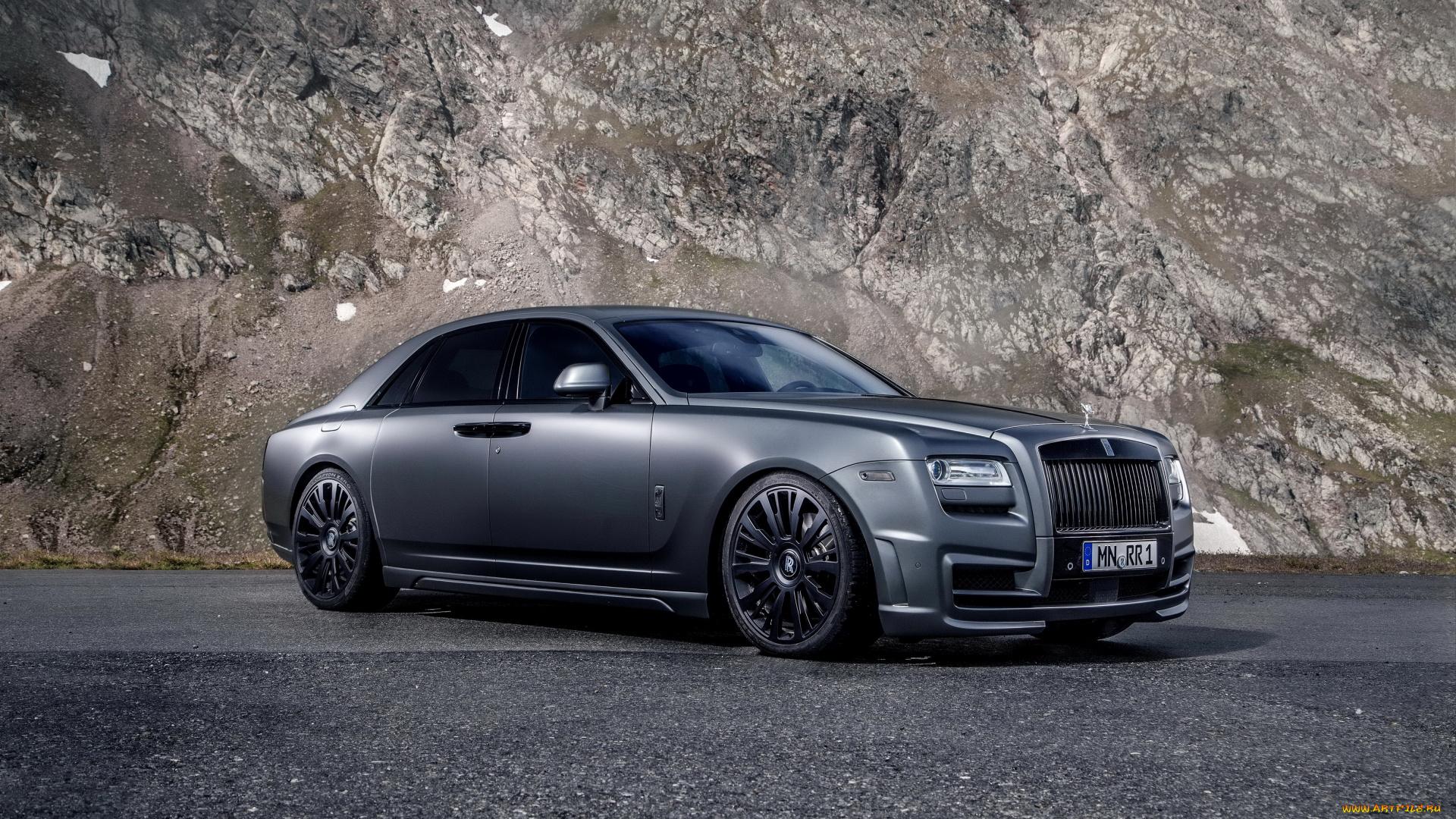 Rolls-Royce дорога горы онлайн
