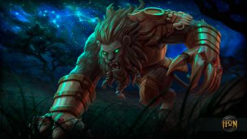 Картинка видео+игры heroes+of+newerth leo night hound hon heroes of newerth лев охотник